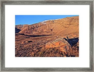 Horseshoe Mountain Dawn Framed Print by Aaron Spong