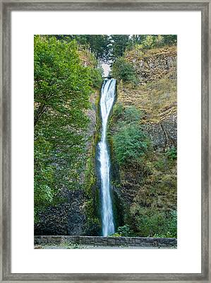 Horsetail Falls Framed Print by John M Bailey