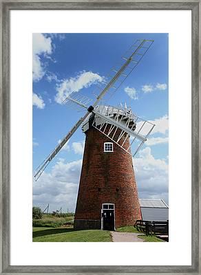 Horsey Windpump Framed Print by Paul Lilley