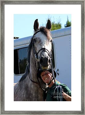 Horsin' Around Framed Print