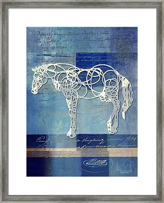 Horso - Sp085134243bl0101 Framed Print