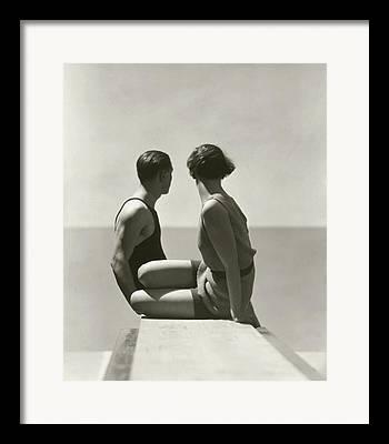 Young Man Framed Prints