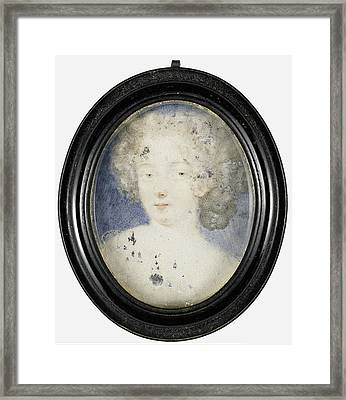 Hortense Mancini, 1639-1715, Duchess Of Mazarin Framed Print by Litz Collection