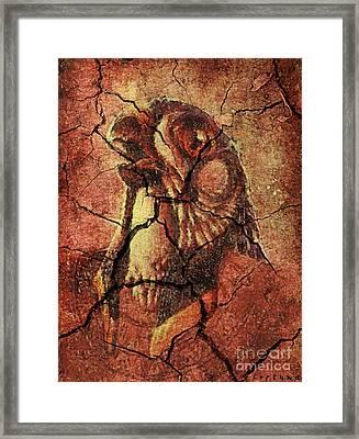Horus - Wall Art Framed Print by Dragica  Micki Fortuna