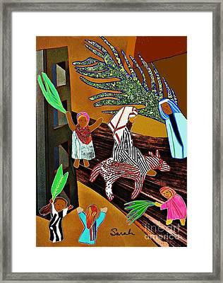 Hosannah Framed Print by Sarah Loft