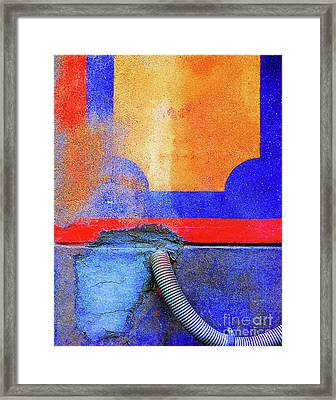 Framed Print featuring the photograph Hosed by Newel Hunter