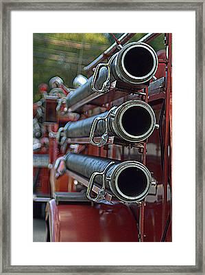 Hoses #2 Framed Print