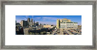 Hospital In A City, Grady Memorial Framed Print by Panoramic Images