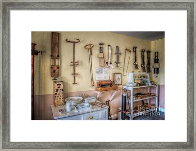 Hospital Museum Framed Print by Adrian Evans