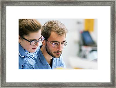 Hospital Nurses Framed Print by Life In View