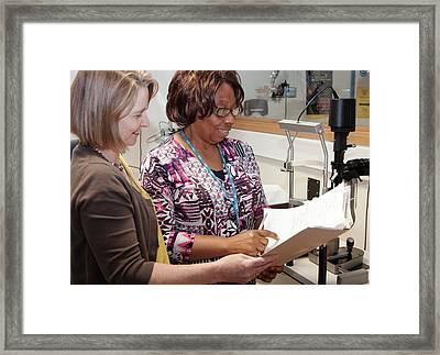 Hospital Orthoptic Department Framed Print