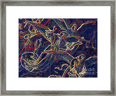 Host Of Angels By Jrr Framed Print by First Star Art
