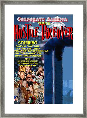 Hostile Takeover Framed Print by James Gallagher