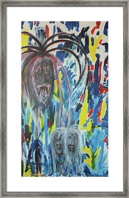 Conflicting Minds Framed Print by Randall Ciotti