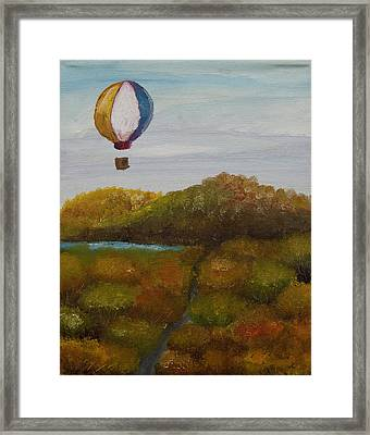 Hot Air Framed Print by Anthony Cavins