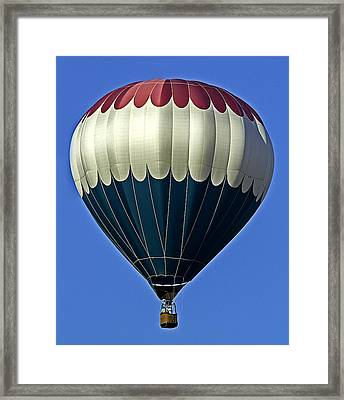 Hot Air Balloon Framed Print by Andy Crawford