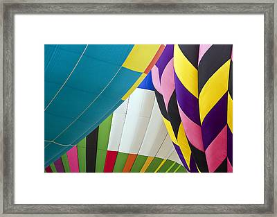 Hot Air Balloon Framed Print by Marcia Colelli