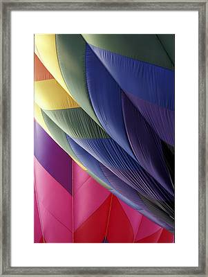 Hot Air Balloons 2 Framed Print by Gail Maloney