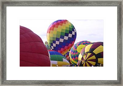 Hot Air Balloons Framed Print by Lee Hartsell