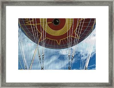 Hot Air Baloon Framed Print
