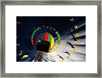Hot Air Up Framed Print by Leon Hollins III