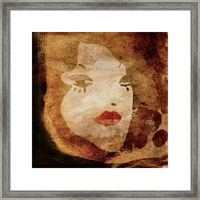 Hot And Cold Framed Print by Carol Leigh