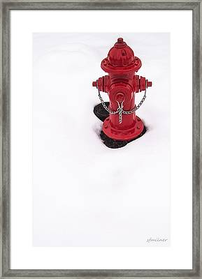 Hot And Cold Framed Print by Steven Milner