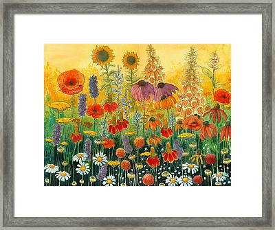 Hot And Hazy Framed Print by Katherine Miller