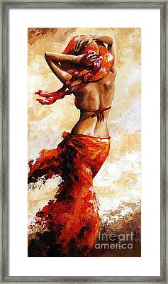 Hot Breeze 03 Framed Print by Emerico Imre Toth