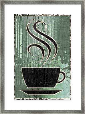 Hot Coffee Framed Print by David G Paul