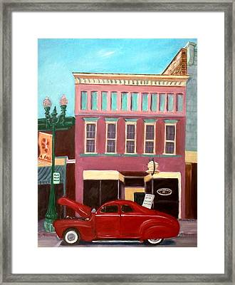 Hot Coffee Framed Print by Stacy C Bottoms