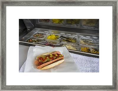 Hot Dawg  Framed Print by Rob Hawkins