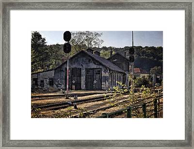 Hot Dry And Dusty Framed Print by Joan Carroll