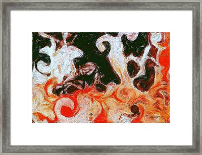 Hot Eternity Framed Print by Jon David