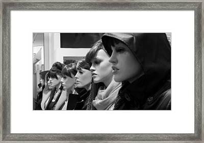 Hot Girls Framed Print by Daniel Gomez