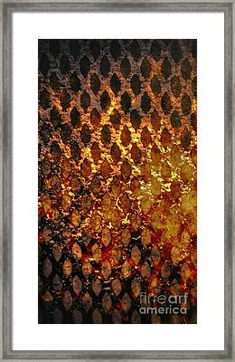 Framed Print featuring the digital art Hot Grill by Darla Wood