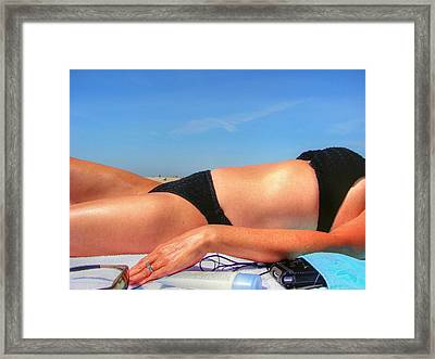 Hot Hot Hot Framed Print by JC Findley