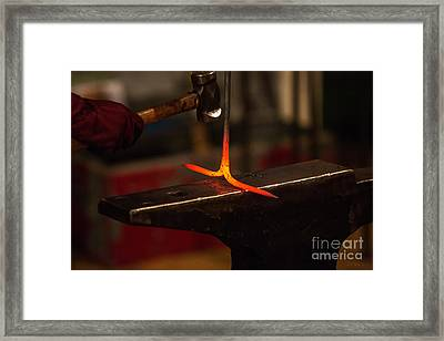 Hot Iron  Framed Print