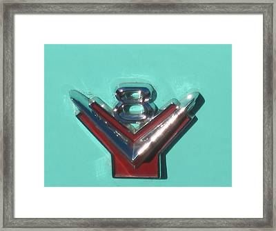 Hot Framed Print by Mary Ann Southern