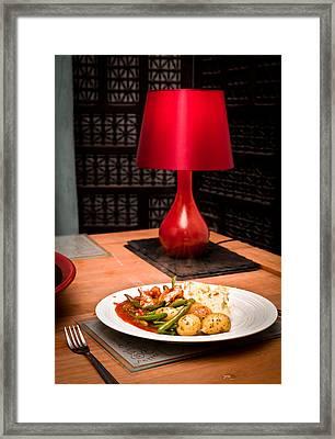 Hot Meal Framed Print