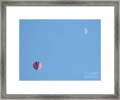 Hot Moon Framed Print by Erick Schmidt