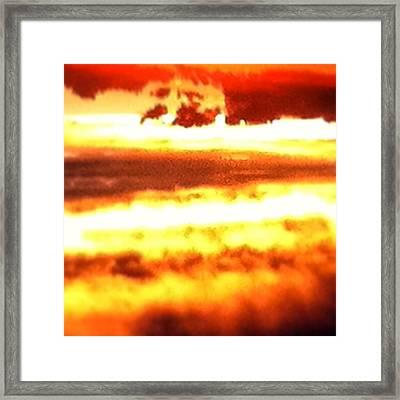 Hot Morning Framed Print by Jake Harral