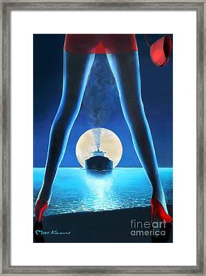 Hot Night Framed Print