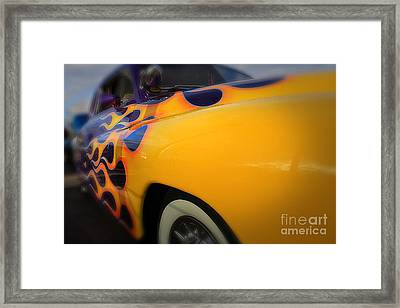 Hot Ride Framed Print by Paul Cammarata