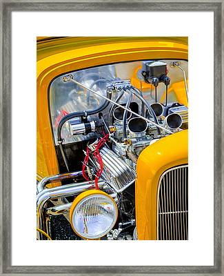 Hot Rod Framed Print by Bill Wakeley
