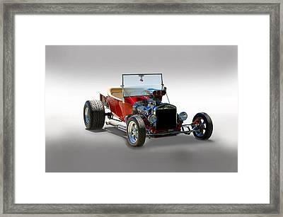 Hot Rod Bucket T Framed Print by Dave Koontz