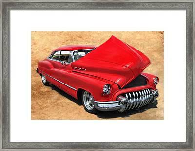 Hot Rod Buick Framed Print by Victor Montgomery