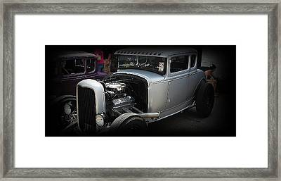 Hot Rod Coupe Framed Print by Joshua Burcham