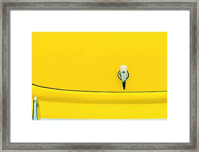 Hot Rod Detail Framed Print