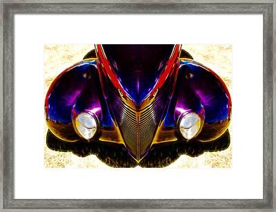 Hot Rod Eyes Framed Print by motography aka Phil Clark